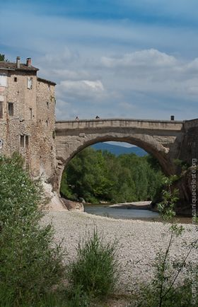 The Roman brigde  Vaison la Romaine